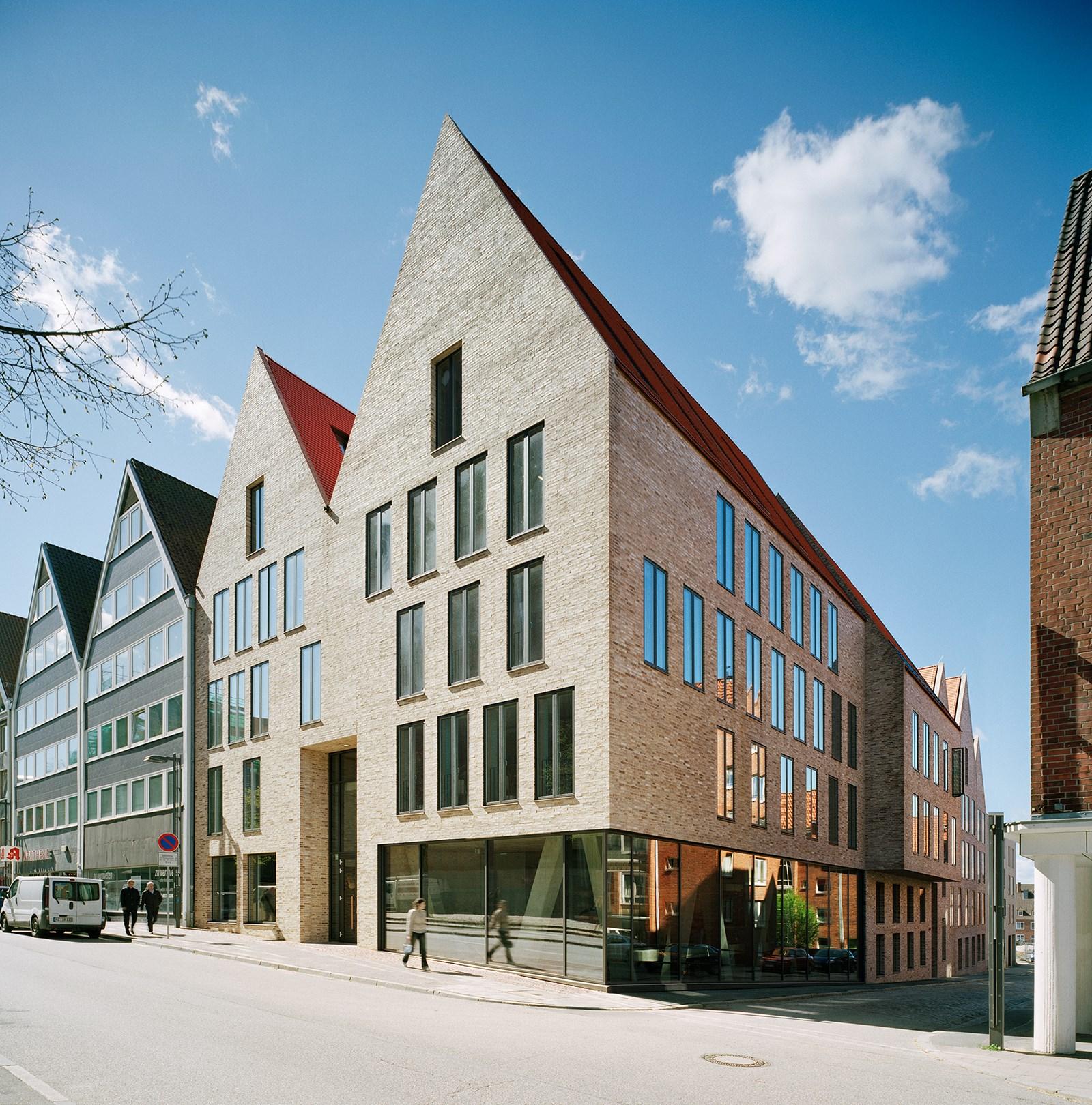 Moderne fenster außen  Ulrich Gabler Haus, Lübeck